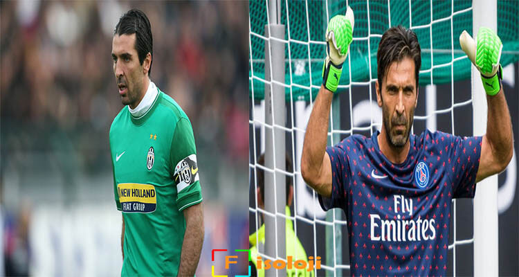 buffon #10yearschallenge