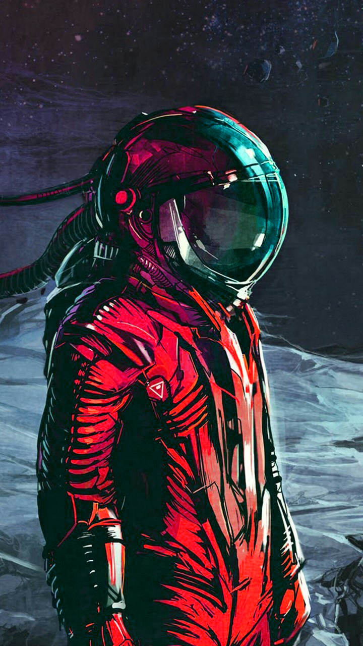 astronaut planet digital aesthetic cool space